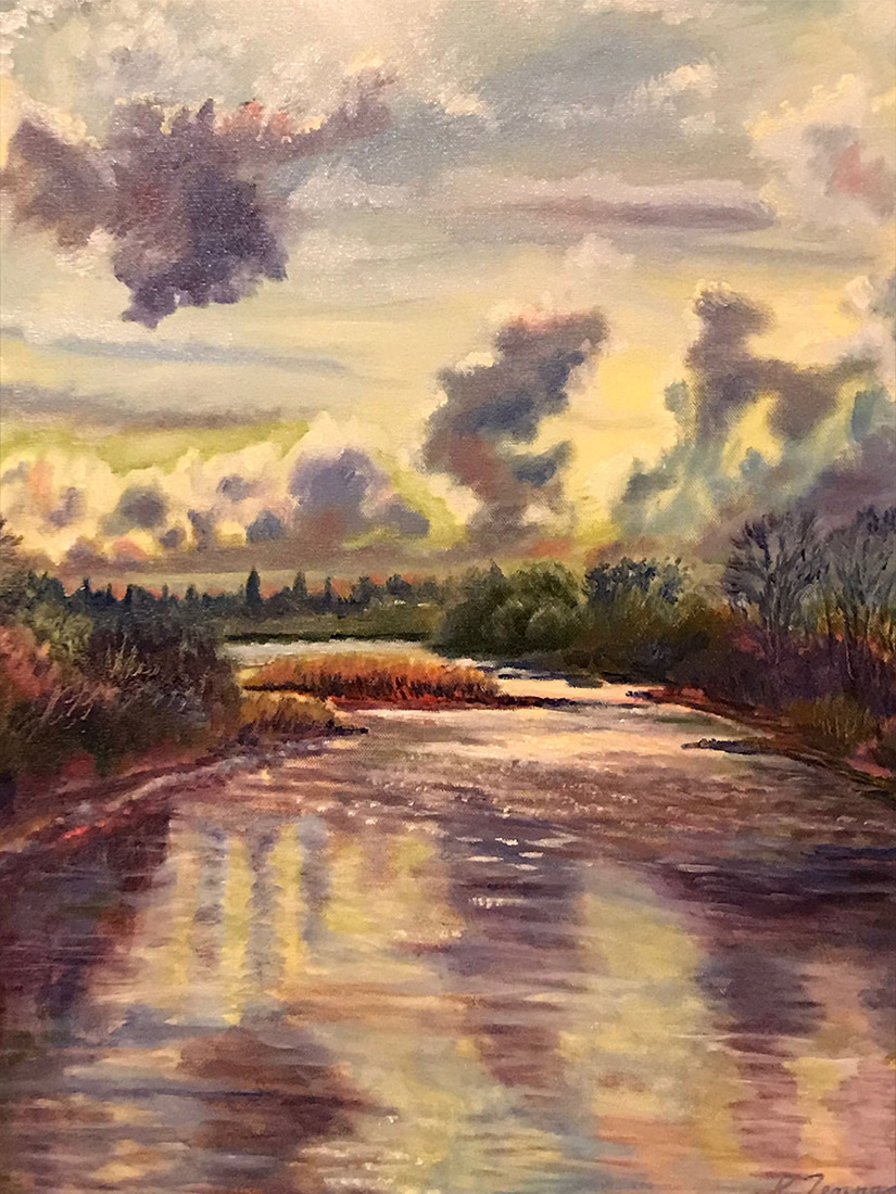 Kim Tennant Painting: American River