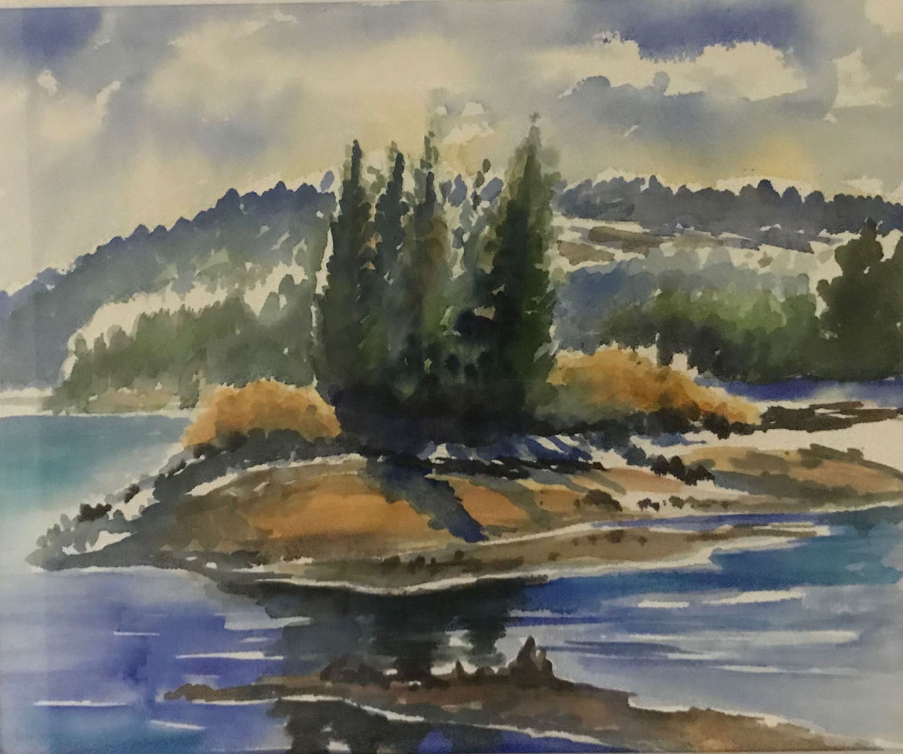 Kim Tennant Painting: Silver Lake