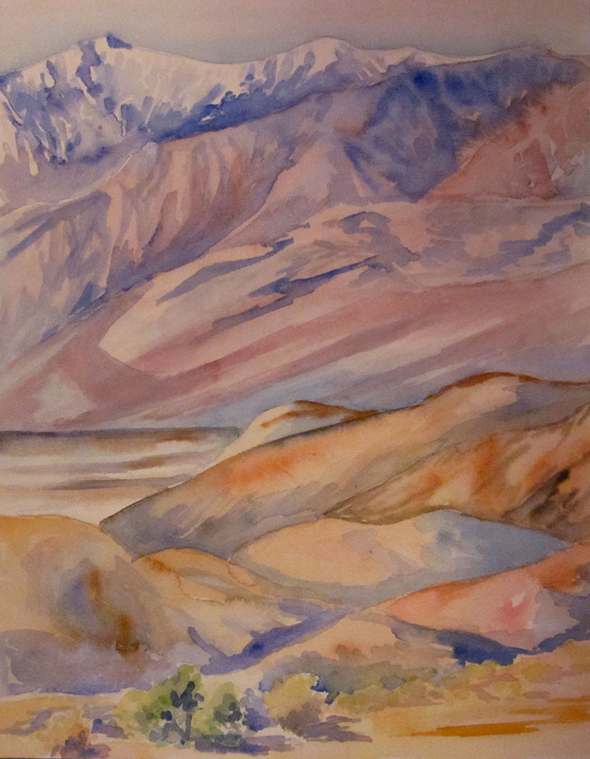 Kim Tennant Painting: Telescope Peak