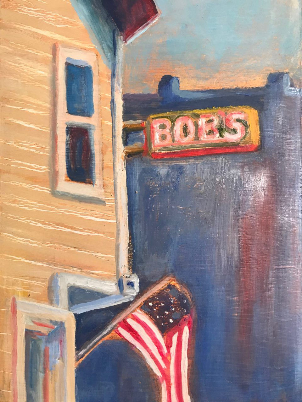 Kim Tennant Painting: Tiny Treasures - Bobs