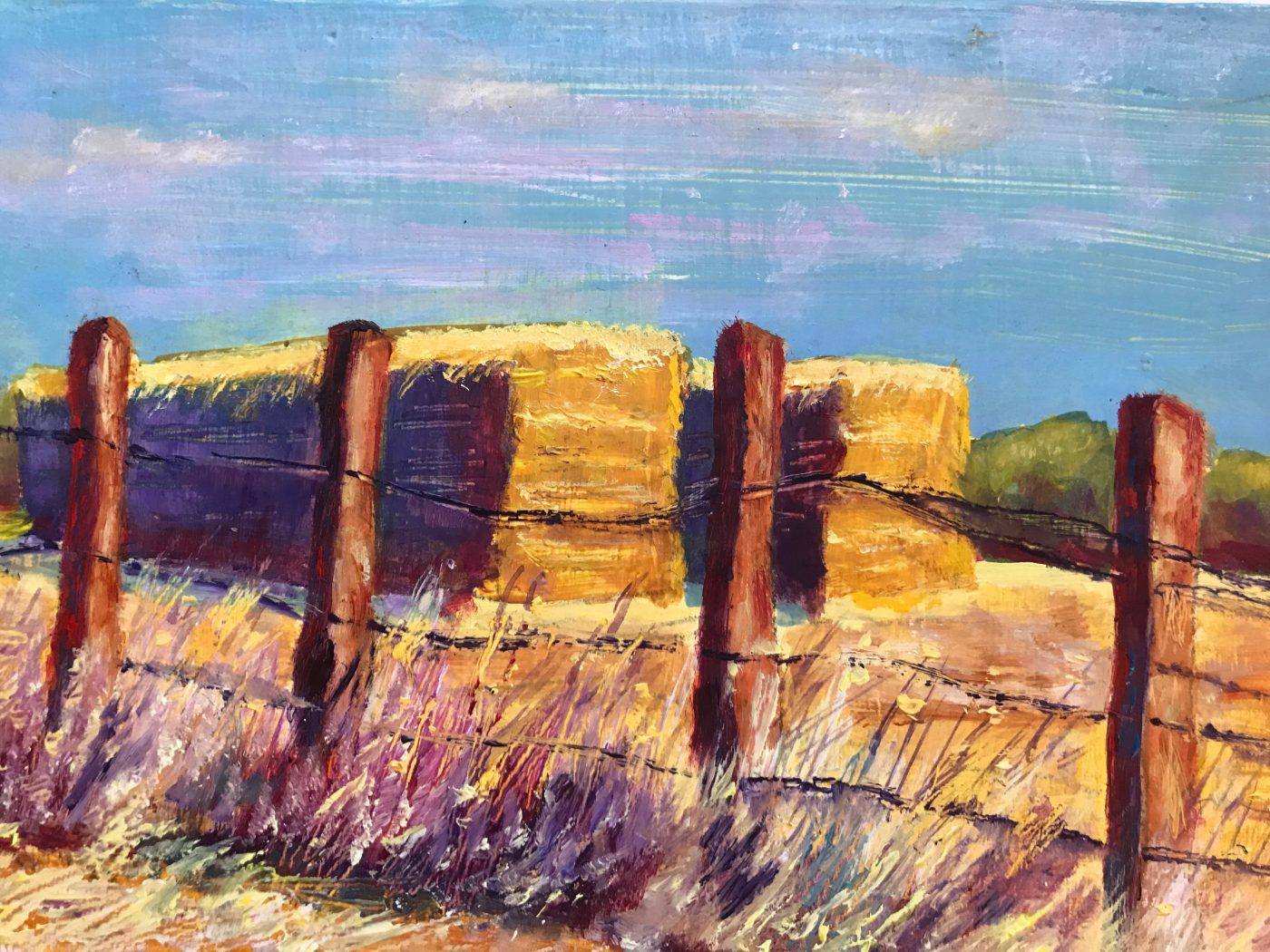 Kim Tennant Painting: Freeman Rd